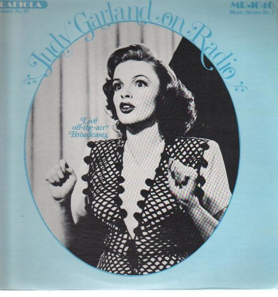 JUDY GARLAND - On Radio - LP
