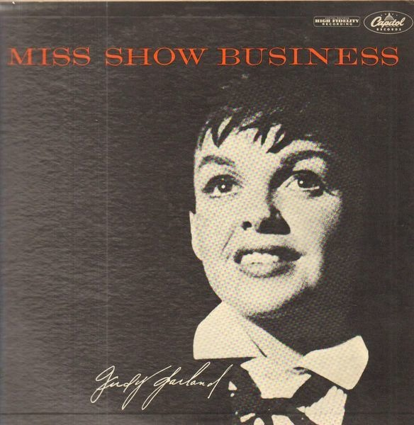 JUDY GARLAND - Miss Show Business - LP