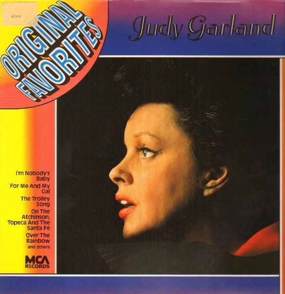 JUDY GARLAND - Original Favorites - LP