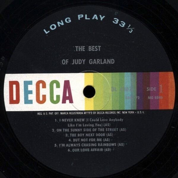 #<Artist:0x007f7988437700> - The Best Of Judy Garland