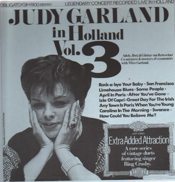 JUDY GARLAND - In Holland, Vol. 3 (STILL SEALED) - LP