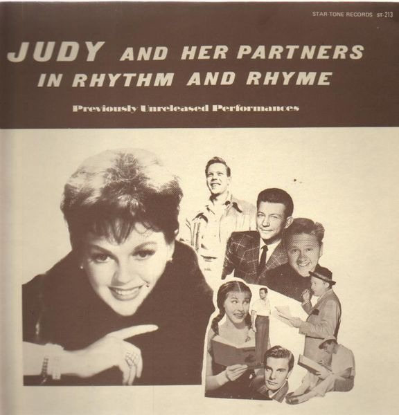 JUDY GARLAND - In Rhythm And Rhyme - LP