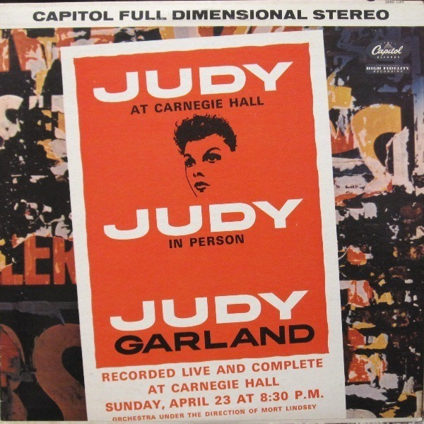 JUDY GARLAND - Judy At Carnegie Hall - LP x 2