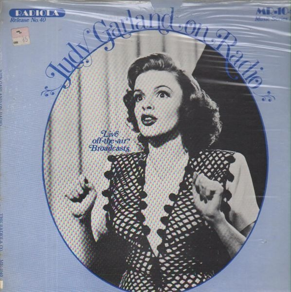 #<Artist:0x007fe9982a1be0> - Judy Garland On Radio