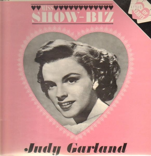 JUDY GARLAND - Miiss Show-Biz (RARE! 60'S UK MONO PRESSING) - LP