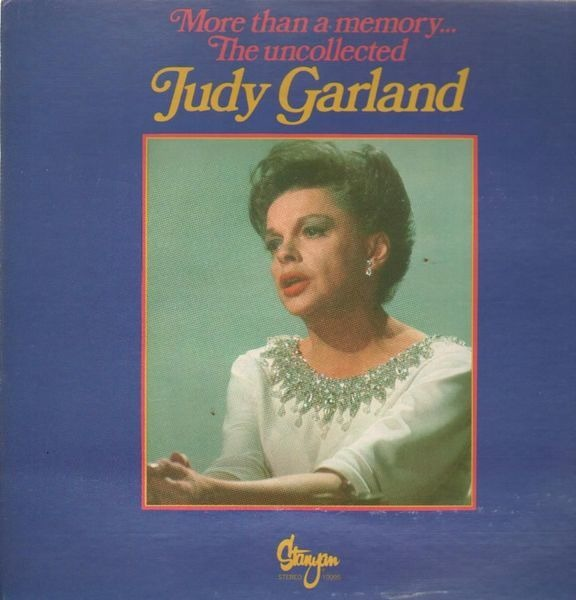 JUDY GARLAND - More Than A Memory - LP