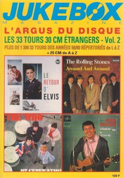 Jukebox Magazine L'Argus Du Disque - Les 33 Tours 30 CM Étrangers, Vol.2 Années 50/60