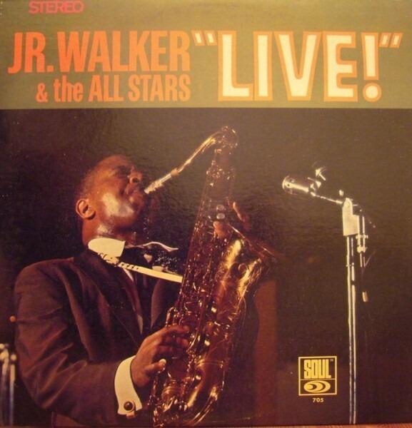 #<Artist:0x00007fd8e39f5bf0> - Jr. Walker & The All Stars 'Live'
