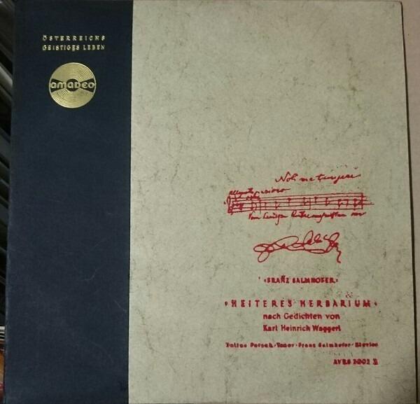 Heiteres Herbarium 10 Insert By Karl Heinrich Waggerl