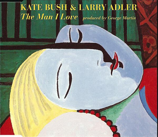 KATE BUSH & LARRY ADLER - The Man I Love - CD single