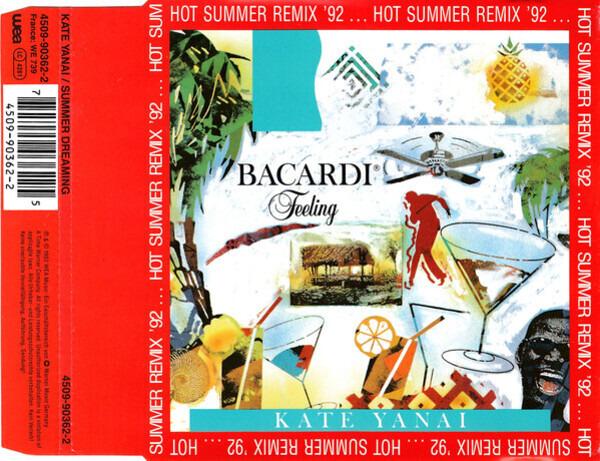 KATE YANAI - Summer Dreaming (Hot Summer Remix '92) - CD single