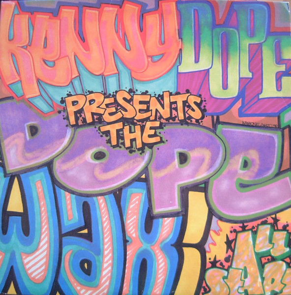 KENNY 'DOPE' GONZALEZ PRESENTS THE DOPE WAX ALL ST - The Dope Wax All Stars - 12 inch x 1