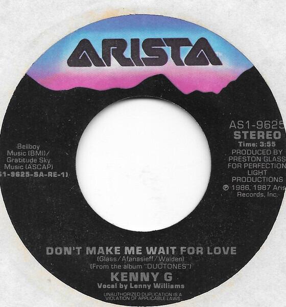 #<Artist:0x007f33a1024780> - Don't Make Me Wait For Love