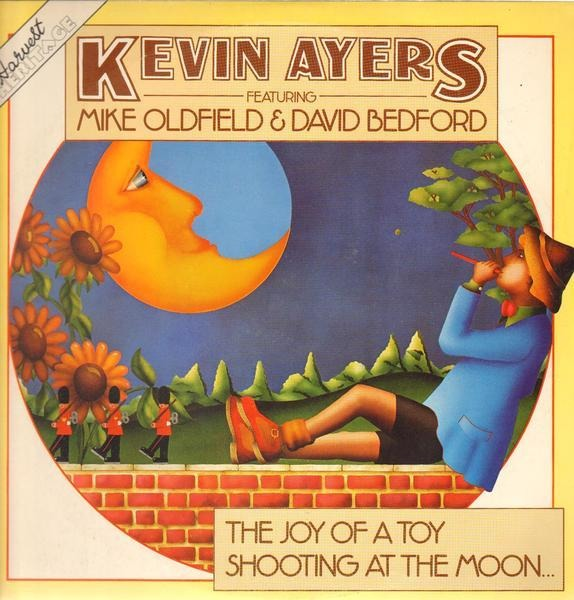 KEVIN AYERS (THE SOFT MACHINE) - Joy of a toy / Shooting at the moon - LP x 2