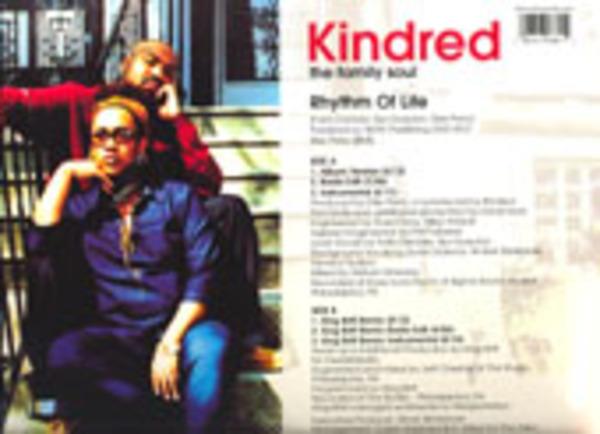 KINDRED THE FAMILY SOUL - Rhythm Of Life - Maxi x 1