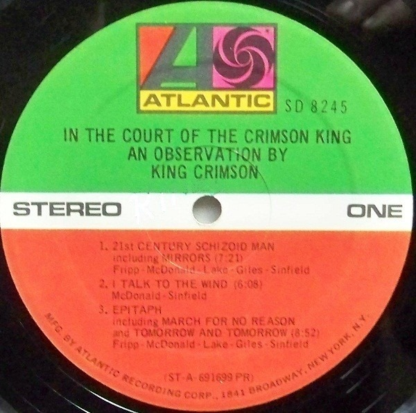 #<Artist:0x007f784e59df08> - In The Court Of The Crimson King (An Observation By King Crimson)