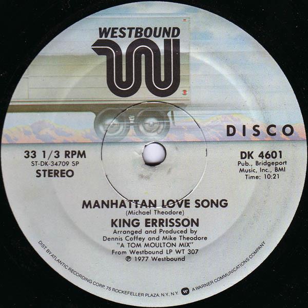 King Errisson Manhattan Love Song