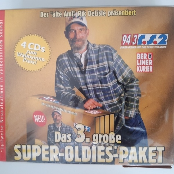 KINKS / BOB MARLEY / EVERLY BROTHERS A.O. - Das 3. große Super-Oldie-Paket - CD x 4