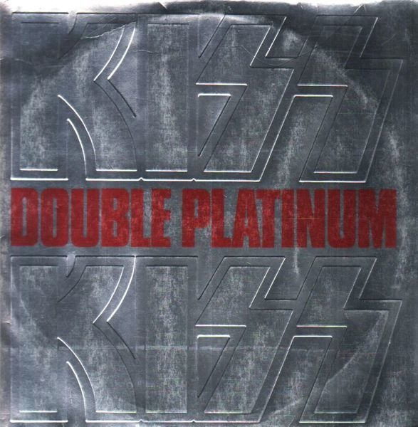 Kiss Double Platinum (SILVER, EMBOSSED GATEFOLD)
