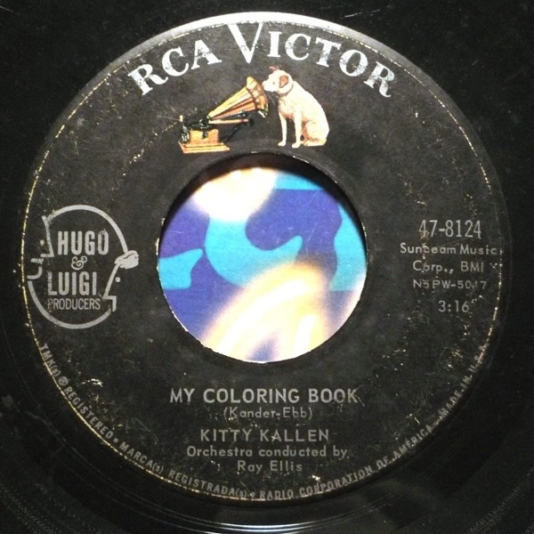 Kitty Kallen My Coloring Book Records, LPs, Vinyl and CDs - MusicStack