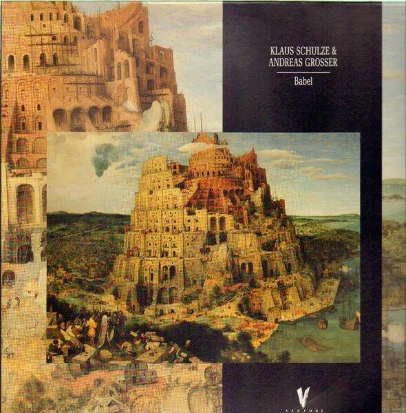 Klaus-Schulze-amp-Andreas-Grosser-Babel-NEAR-MINT-Virgin-Vinyl-LP