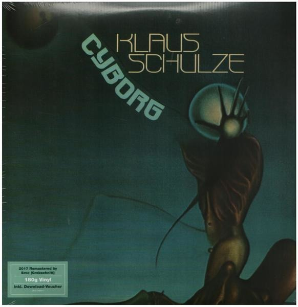 klaus schulze cyborg (180g +download)