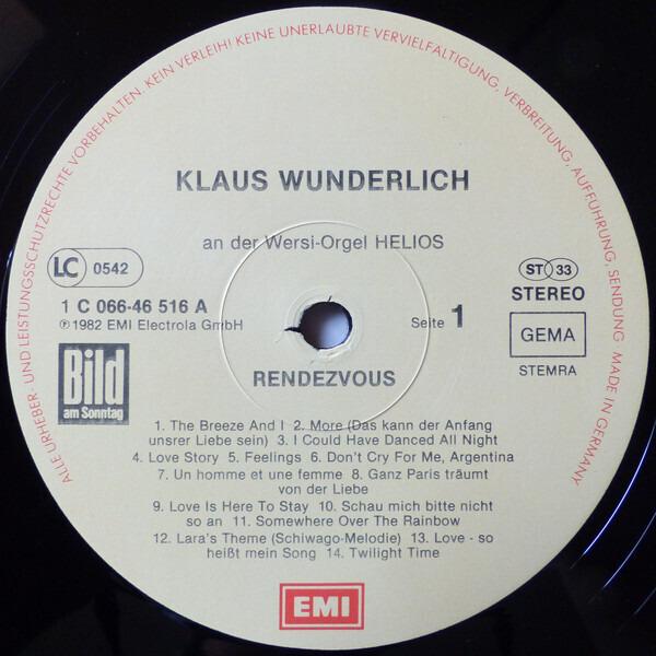 Klaus Wunderlich Rendezvous