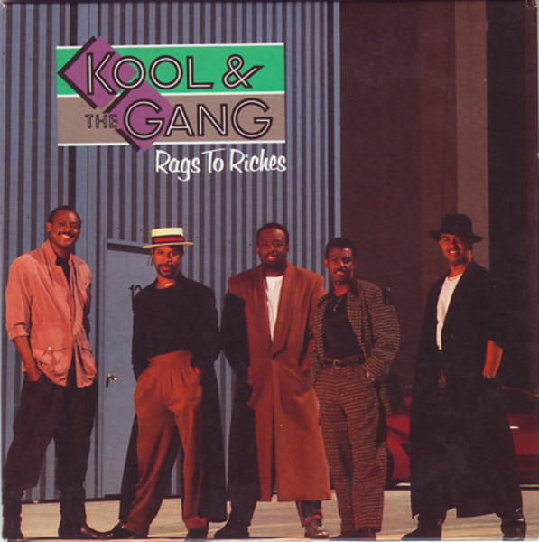 KOOL & THE GANG - Rags To Riches - CD single