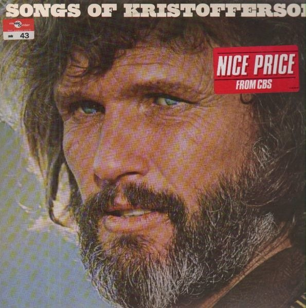 #<Artist:0x007fd7aa3b5a68> - Songs Of Kristofferson