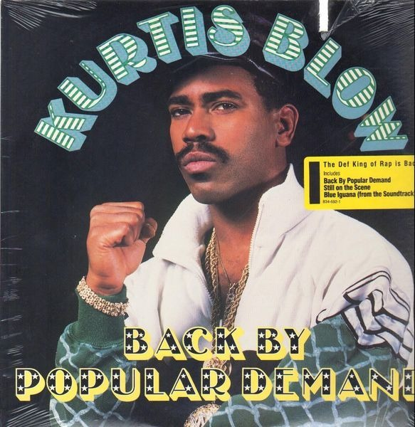 Kurtis Blow Back By Popular Demand (STILL SEALED)