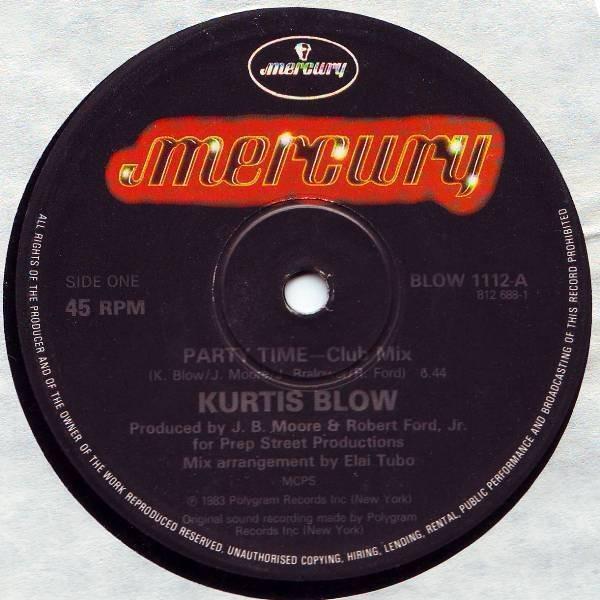Kurtis Blow Party Time