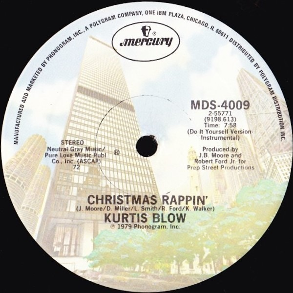 Kurtis Blow Christmas Rappin'