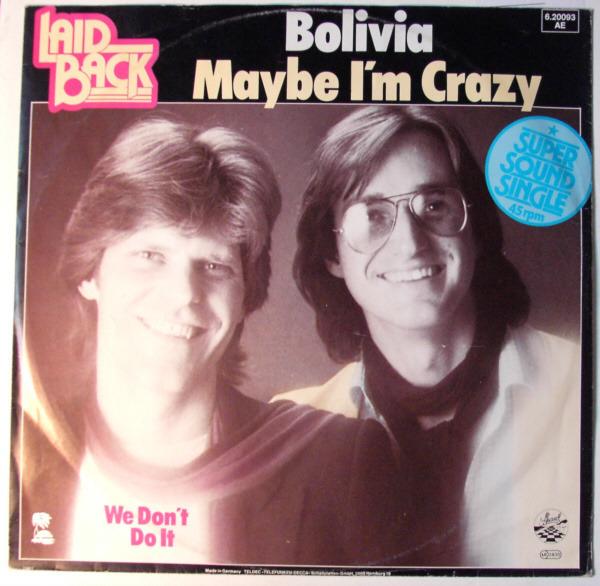 #<Artist:0x00007fd8e0612a90> - Bolivia / Maybe I´m Crazy