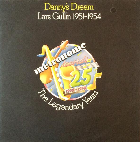 LARS GULLIN - Danny's Dream - Lars Gullin 1951-1954 - 33T x 2