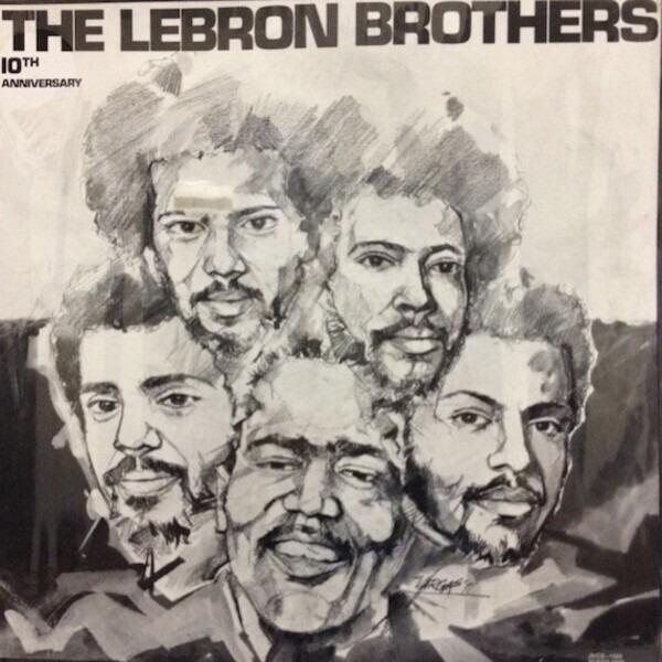3c4215e97cc9 LEBRON BROTHERS - 10th Anniversary - LP