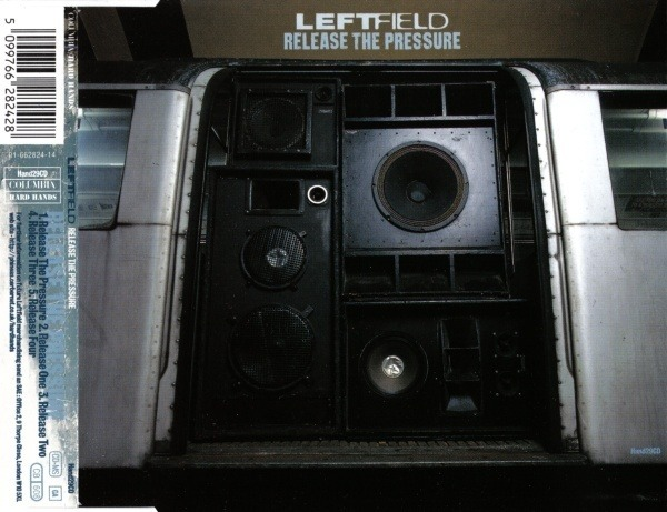LEFTFIELD - Release The Pressure - CD single