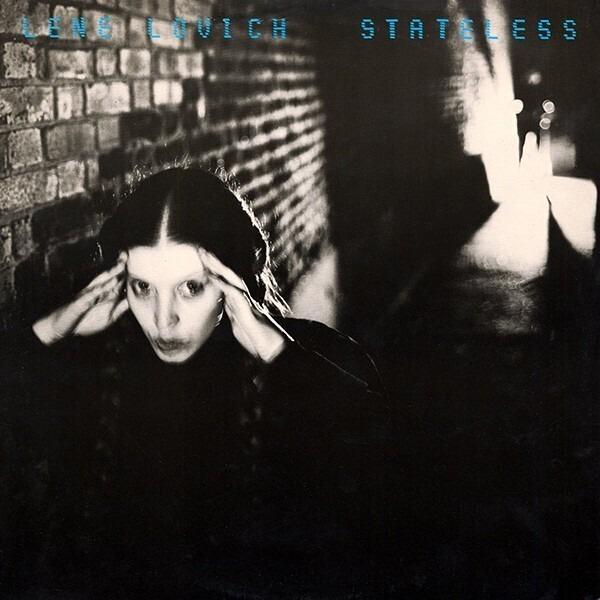 LENE LOVICH - Stateless (RED TRANSLUCENT VINYL) - 33T