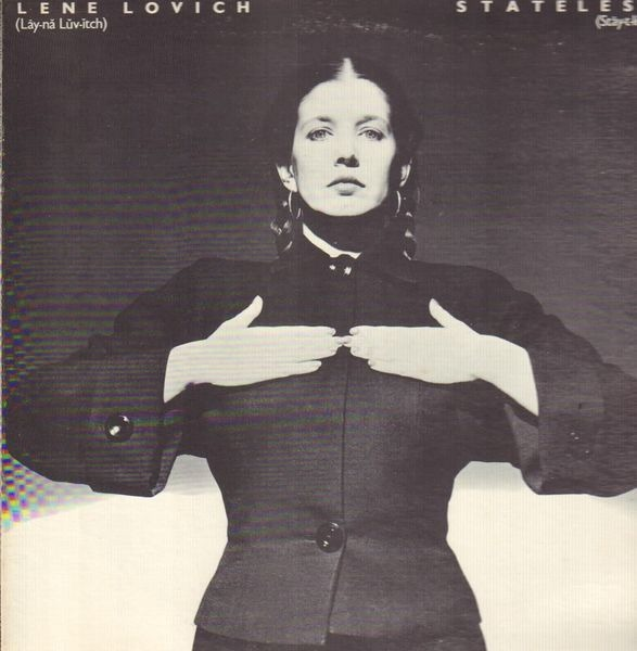 LENE LOVICH - Stateless - 33T