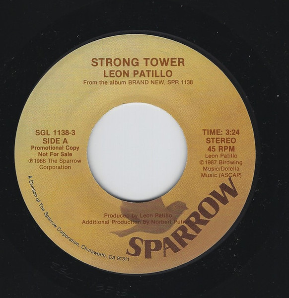 LEON PATILLO - Strong Tower - 7inch x 1