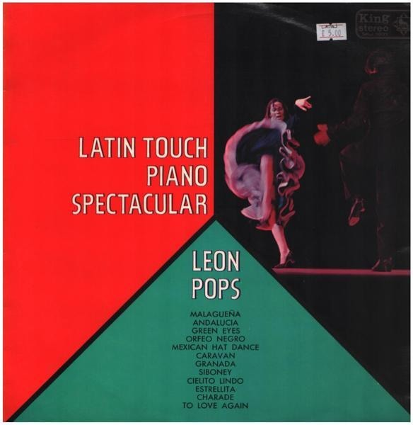 LEON POPS - Latin Touch Piano Spectacular - 12 inch x 1