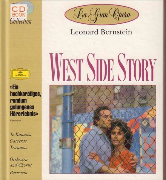 LEONARD BERNSTEIN - West Side Story - CD