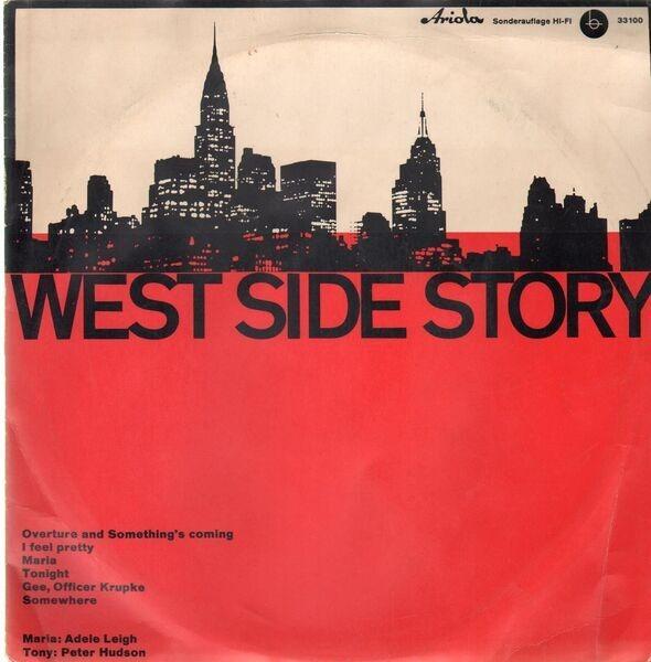 Leonard Bernstein West Side Story (BERTELSMANN SCHALLPLATTENRING SONDERAUFLAGE)