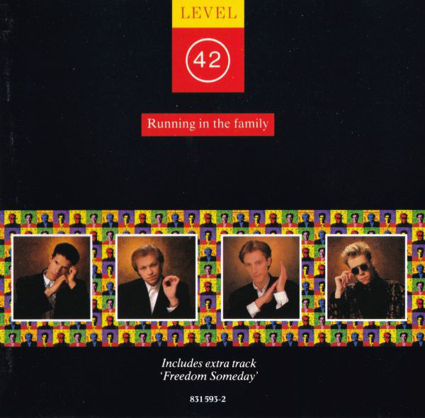 LEVEL 42 - Running In The Family (SMOOTH CASE) - CD