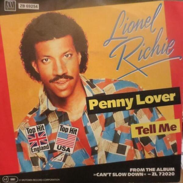 #<Artist:0x007fe34492b0d8> - Penny Lover / Tell me