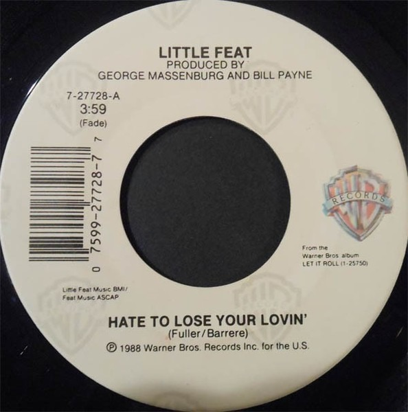 #<Artist:0x007f786d8c2070> - Hate To Lose Your Lovin'