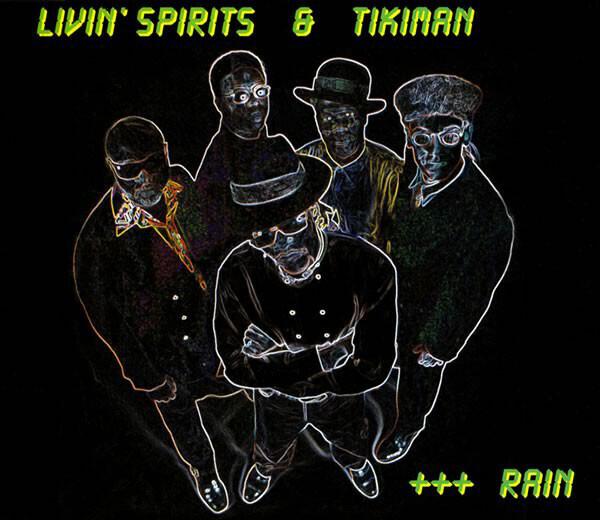 LIVIN' SPIRITS & TIKIMAN - Rain - CD single