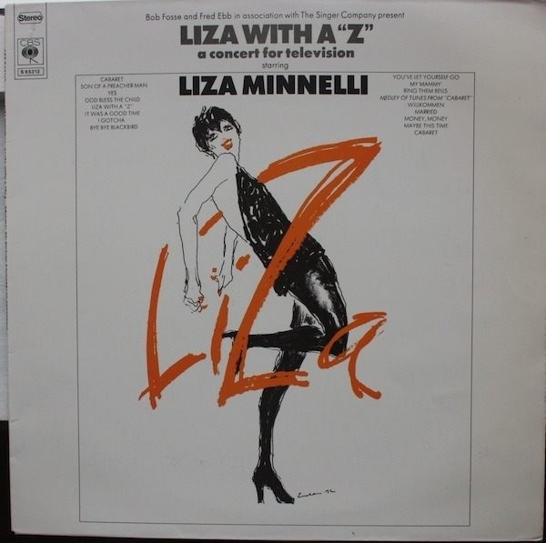 #<Artist:0x007fafb05d4c30> - Liza With A 'Z'. A Concert For Television