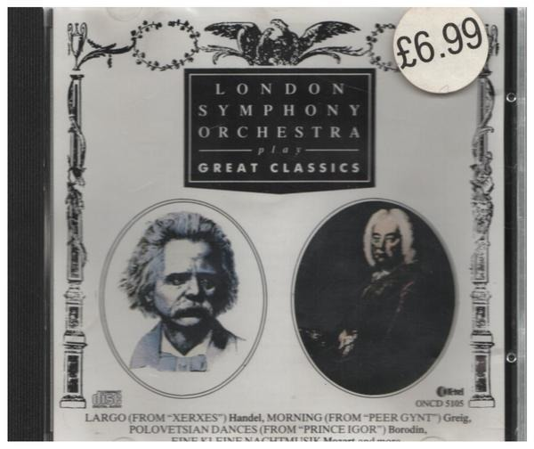 LONDON SYMPHONY ORCHESTRA - Play Great Classics - CD
