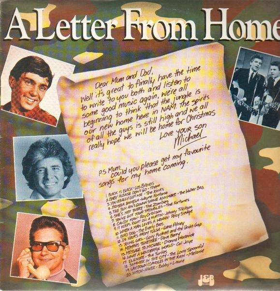 Los Bravos, Them, The Kinks, a.o. A Letter From Home (STILL SEALED)