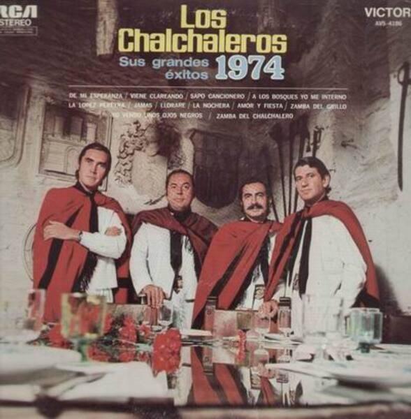 LOS CHALCHALEROS - Sus Grandes Exitos 1974 - LP